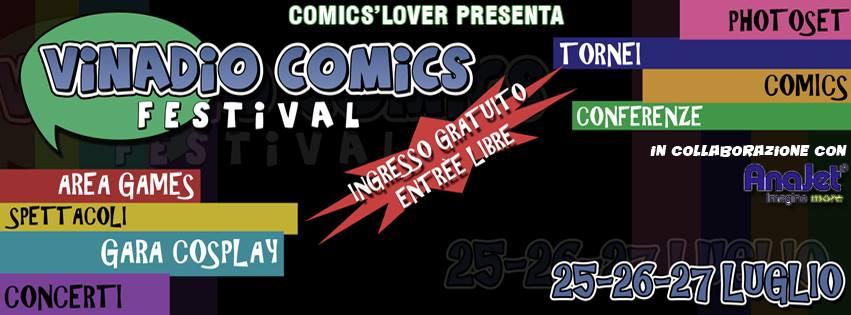 vinadio comics
