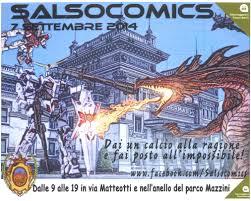 Domenica 7 settembre 2014 ho partecipato alla edizione 0 del Salsocomics a Salsomaggiore in provincia di Parma. Bhe mi sembrava il minimo, voglio dire.. è a Salso … è vicino […]
